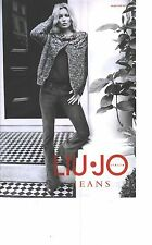 PUBLICITE ADVERTISING 2012  LIU-JO Jeans pull gilet KATE MOSS