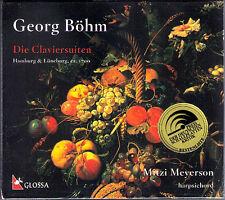 Georg BÖHM 1661-1733 Harpsichord Suites Mitzi MEYERSON 2CD Glossa NEU Cembalo