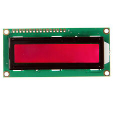 Red LCD1602 16x2 Characters Display Module work with MCU ARM7 ARM9 Arduino UNO