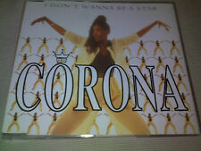 CORONA - I DON'T WANNA BE A STAR - 5 MIX UK CD SINGLE