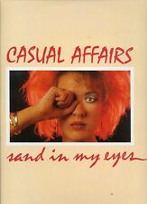 CASUAL AFFAIRS sand in my eyes RARE DUTCH NEW WAVE 1984 NEAR MINT 12INCH 45 RPM