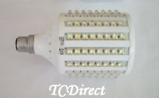 230V 19W B22 128 LED Light Globe -  Cool White