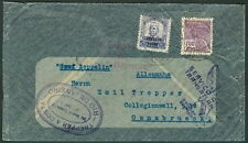Brazil, 1932, Return of 8th S.A. flight, Rio to Germany, nice franking & cachets