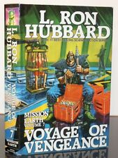Voyage of Vengeance Mission Earth Volume 7 by L. Ron Hubbard 1987 Hardcover Book