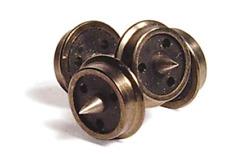 Graham Farish 379-410 Wagon Wheels 3 Hole Disc Pk10 Axles  N Gauge