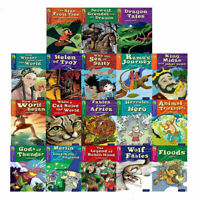 Oxford Reading Tree Tops Myths & Legends Wolf Fables 18 Books Collection Set New