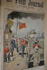 Evenements du Transvaal  / Le petit journal sup illustré N°465 / 15 octobre 1899
