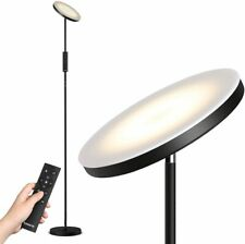 LED Floor Lamp with Stepless Dimming/Color Temperature Torchiere Lamp