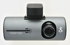 Cobra Electronics CDR-840 Dash Cam, HD Windshield-Mounted Camera with GPS - Gray