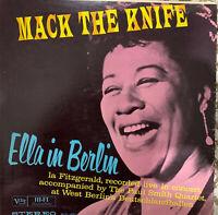 Ella Fitzgerald Mack the Knife Verve Original Stereo