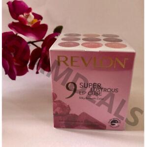New Sealed Revlon Super Lustrous Lipstick | Rare Shades or Rare USA Cube Set