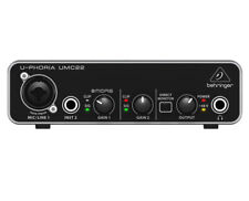 Behringer U-Phoria UMC22 2x2 Audio Interface PROAUDIOSTAR