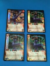 UFS Foil Cards x4 - Soul Calibur - 1 Blood Scroll, 3 Shattering Force