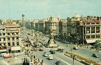 Postcard O'Connell Street Dublin Ireland