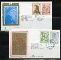 VATICAN CITY 1965 DANTE ALIGIERI KIM  FIRST DAY COVERS