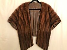 Beautiful Absolutely Soft genuine Ranch Mink Fur Stole