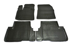 Dacia Lodgy 2013- 5p Rubber Car Floor Mats All Weather Carmats Alfombrillas Goma