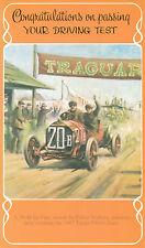 Driving Test Pass Congratulations Greeting Card Felice Naffora 1907 Targa Florio