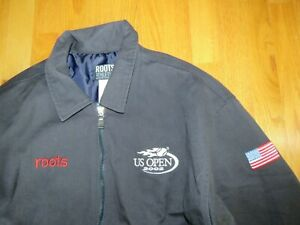 Roots 2002 US Open TENNIS (MED) Jacket PETE SAMPRAS and SERENA WILLIAMS Winners