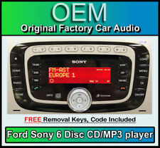 Autorradios Sony de 4 canales para reproductor CD