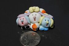 Easter Collectibles Bunny Handmade Miniatures Animals Figurines rabbits