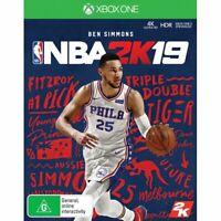 NBA 2K19 XBOX ONE S X NUOVO SIGILLATO ITALIANO DISCO FISICO BASKET 2K