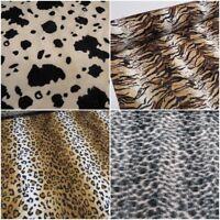 Luxury Animal Skin Print Velboa Faux Fur Velour Pony Skin 150cms Wide