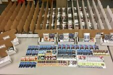 Box lot of 440+ different ALL Football Rookie Card lot/set Graded Auto Patch #'d