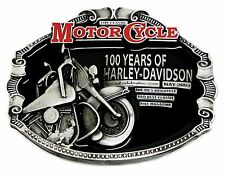 Harley Davidson Belt Buckle Classic Motorcycle Biker 100 Years Harley Licensed