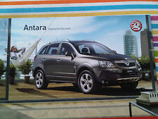 Vauxhall Antara Explore the City Limits Brochure Product Review 2007