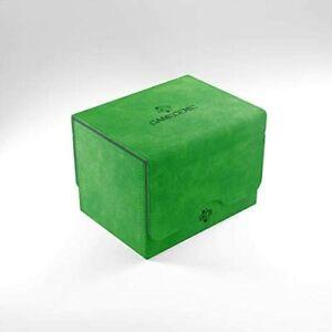 Sidekick 100+ Card Convertible Deck Box: Green GameGenic Asmodee NEW