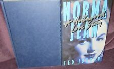 Norma Jean: A Hollywood Love Story ~ Ted Jordan. 1st HbDj 1989  UNread in MELB