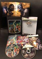 XBOX 360 ✔ MORTAL KOMBAT VS DC UNIVERSE COLLECTOR'S EDITION ✔ KOLLECTOR'S combat