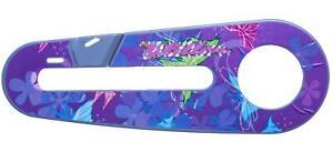 "GLITTER DESIGN KIDS Bike/Bicycle CHAIN GUARD for 12"" WHEELS in Purple & Pink"