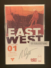 East of West #1 Ghost Variant SIGNED by Dragotta Image Comics Hickman NM
