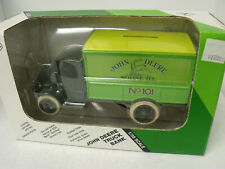 Ertl1:38 Replica Mack Bulldog,1926 Delivery, Bank, John Deere #101,Exccond,W/Box