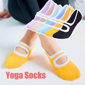 Big Size Women Yoga Socks Silicone Non-Slip Pilates Cotton Sports Socks