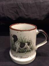 Vintage Coffee-Tea Cup English Spaniel Dog Pheasant Hunting  Mug ENSCO JAPAN