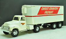 VINTAGE 1955 TONKA PRIVATE LABEL CROSS COUNTRY FREIGHT SEMI, NICE CONDITION LQQK
