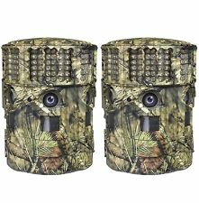 (2) Moultrie No Glow 14MP Panoramic 180i Infrared Game Hunting Cameras | P-180i