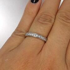 Wert 2960 € Brillant Memory Ring (1,05 Carat) in 750er 18 K Weißgold Größe 56