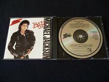 **JAPAN FOR EUROPE CD** MICHAEL JACKSON BAD DIDP- 10645 21A3  MTX