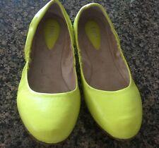 Women's BLOCH Arabian Ballerina Flats in Yellow  Size 38 1/2