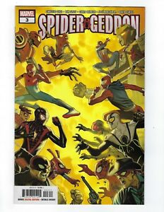 Spider-Geddon # 3 Regular Cover Marvel NM