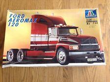 ITALERI Ford Aeromax 120 Semi Truck Model Kit 1/24 Unbuilt 730 Complete Nice