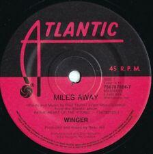 Winger ORIG OZ 45 Miles away EX '90 Atlantic 7567878247 Hair Metal
