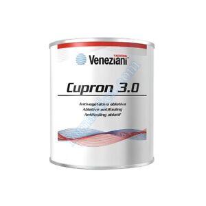 VENEZIANI ANTIVEGETATIVA CUPRON 3.0 2,5 LT - PER BARCA - NERO BLU ROSSO BIANCO