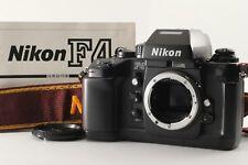 EXC+++++ S/N260xxx Late Model Nikon F4 35mm SLR Film Camera DataBack From JP 139