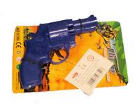 """7"""" DETECTIVE TOY GUN CHILDREN FRICTION SPARKLES IN THE DARK"""