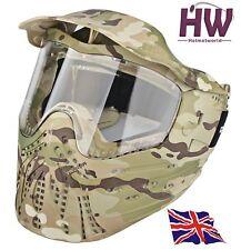 airsoft paintball MC Multicam camouflage masque anti brouillard INTÉGRAL UK